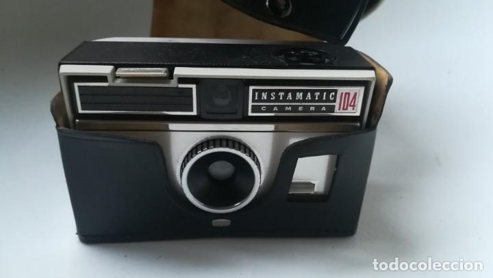 Cámara de fotos: Cámara vintage Kodak Instamatic 104 - Foto 2 - 151169754