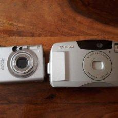 Cámara de fotos: CAMARA CANON DIGITAL IXUS 430 Y PRIMA ZOOM SHOT Y CARGADOR. Lote 154290973