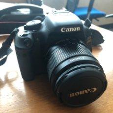 Cámara de fotos: CANON EOS 600D. Lote 154623576