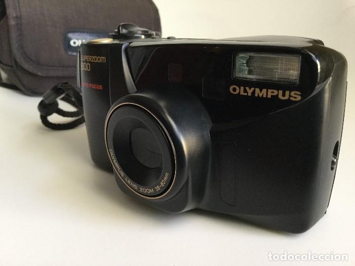 Cámara de fotos: Cámara Fotográfica Olympus Superzoom 800 Auto Focus – 35mm – Año 1998 - Foto 2 - 155013038