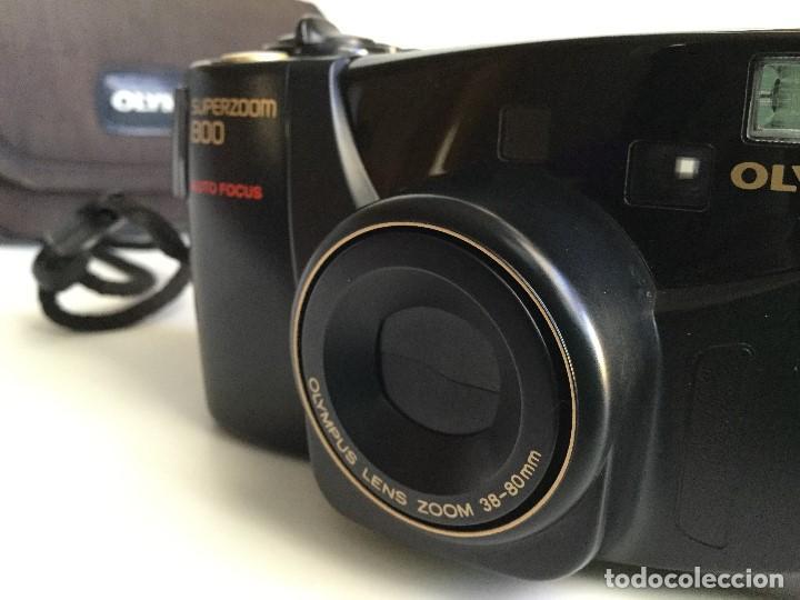 Cámara de fotos: Cámara Fotográfica Olympus Superzoom 800 Auto Focus – 35mm – Año 1998 - Foto 3 - 155013038