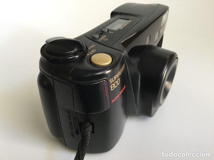 Cámara de fotos: Cámara Fotográfica Olympus Superzoom 800 Auto Focus – 35mm – Año 1998 - Foto 4 - 155013038