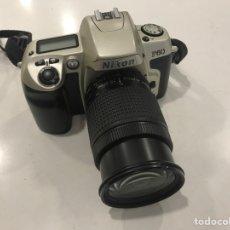 Cámara de fotos: NIKON F-60 + NIKON 28/80 AF FUNCIONANDO. Lote 155976005