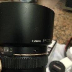 Cámara de fotos: CANON EOS 650 D CON 1:1,4 Y OTRO ZOOM + GRIPP. Lote 157484270