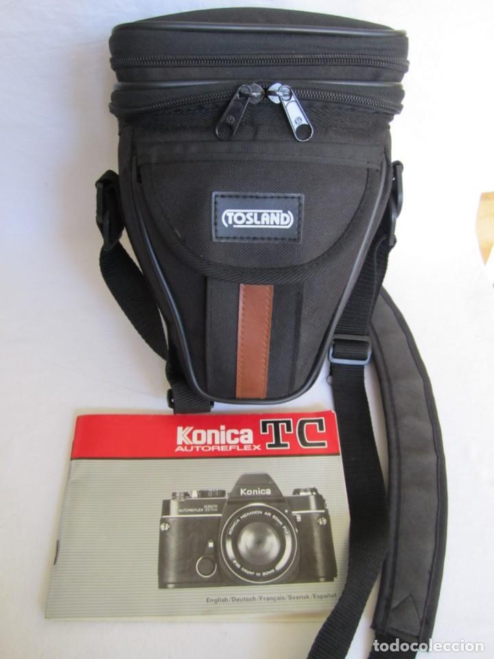 Cámara de fotos: cámara konika autoreflex tc + flash elect e-300 + bolsa transporte - Foto 8 - 159617446