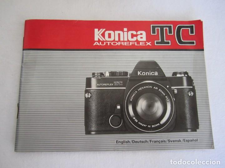 Cámara de fotos: cámara konika autoreflex tc + flash elect e-300 + bolsa transporte - Foto 9 - 159617446