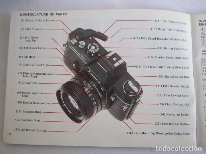 Cámara de fotos: cámara konika autoreflex tc + flash elect e-300 + bolsa transporte - Foto 10 - 159617446