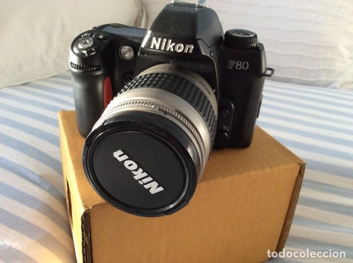 Cámara de fotos: CAMARA FOTOS NIKON F80 CON OBJETIVO 28-80 - Foto 3 - 159807610