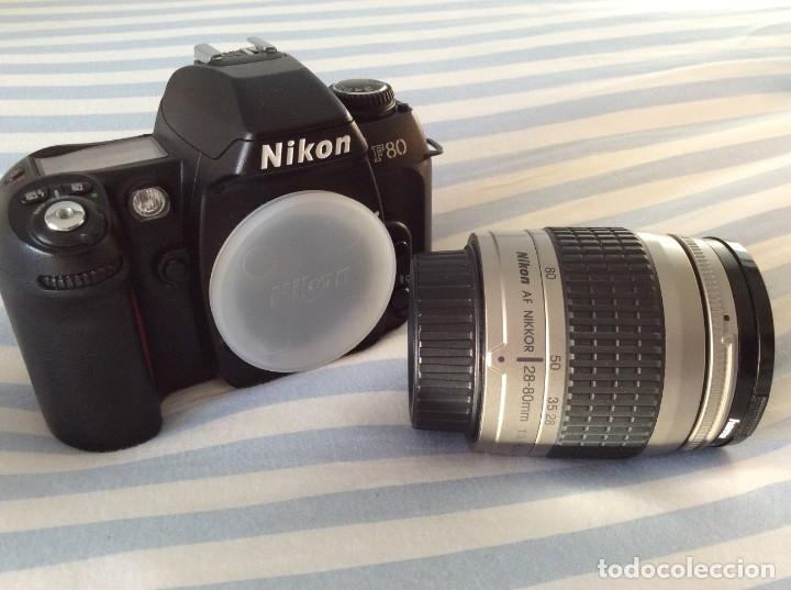 Cámara de fotos: CAMARA FOTOS NIKON F80 CON OBJETIVO 28-80 - Foto 4 - 159807610
