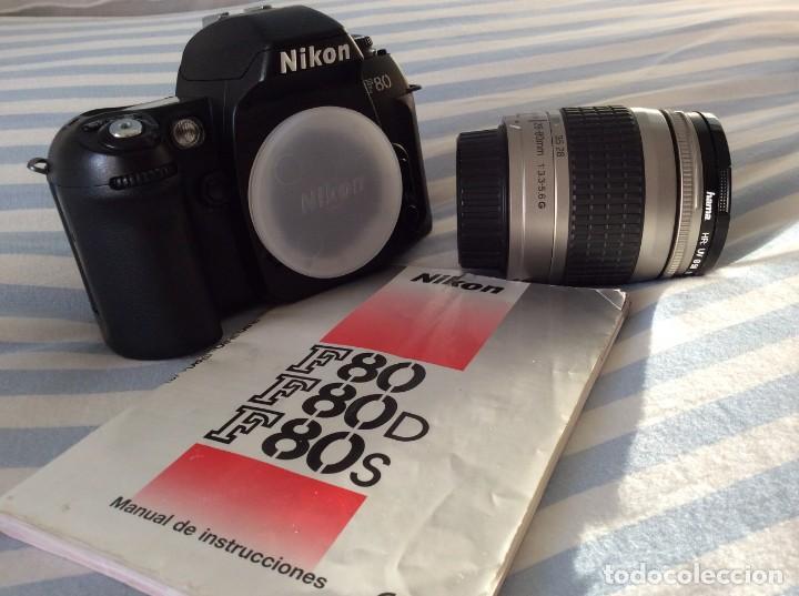 Cámara de fotos: CAMARA FOTOS NIKON F80 CON OBJETIVO 28-80 - Foto 5 - 159807610