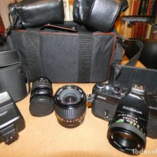Cámara de fotos - Camara cosina 4000 S, cosinon. objetivos 200 Goko,formulas, panassonic PE, flash, fundas - 159960558