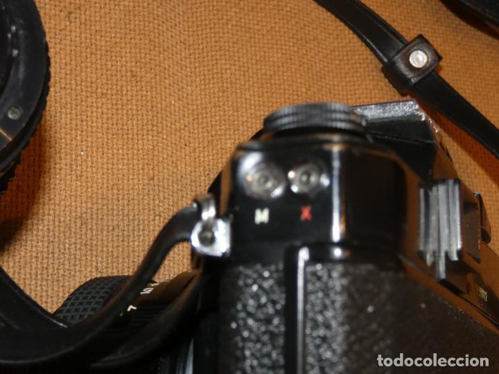Cámara de fotos: Camara cosina 4000 S, cosinon. objetivos 200 Goko,formulas, panassonic PE, flash, fundas - Foto 4 - 159960558