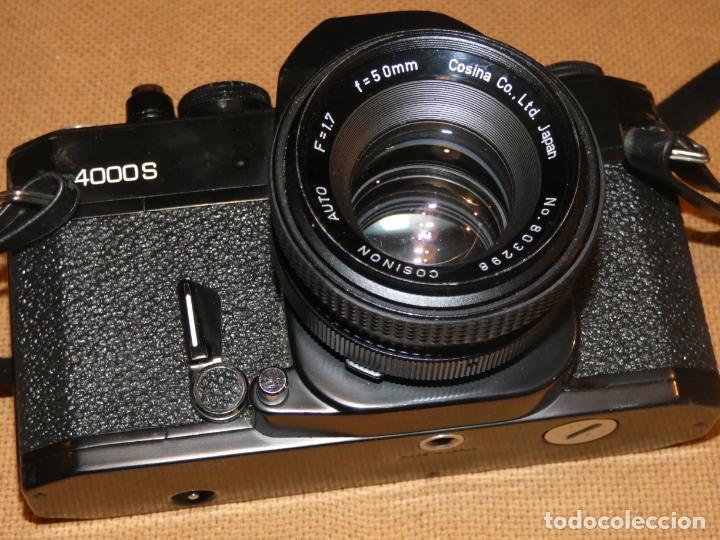 Cámara de fotos: Camara cosina 4000 S, cosinon. objetivos 200 Goko,formulas, panassonic PE, flash, fundas - Foto 5 - 159960558