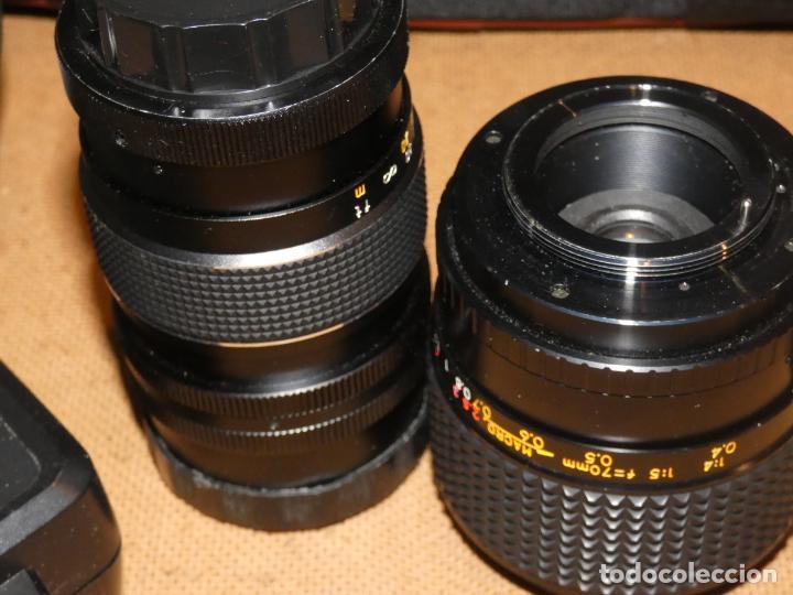 Cámara de fotos: Camara cosina 4000 S, cosinon. objetivos 200 Goko,formulas, panassonic PE, flash, fundas - Foto 7 - 159960558