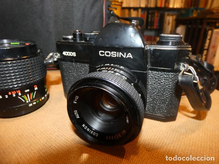 Cámara de fotos: Camara cosina 4000 S, cosinon. objetivos 200 Goko,formulas, panassonic PE, flash, fundas - Foto 8 - 159960558