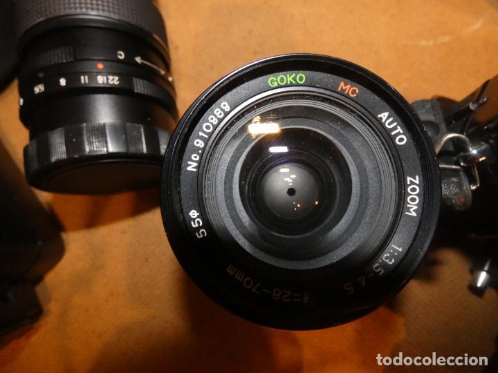 Cámara de fotos: Camara cosina 4000 S, cosinon. objetivos 200 Goko,formulas, panassonic PE, flash, fundas - Foto 9 - 159960558