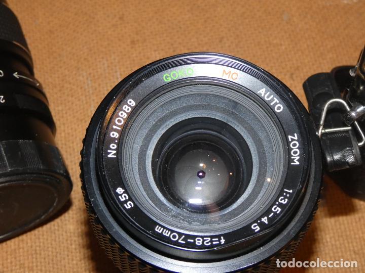Cámara de fotos: Camara cosina 4000 S, cosinon. objetivos 200 Goko,formulas, panassonic PE, flash, fundas - Foto 11 - 159960558