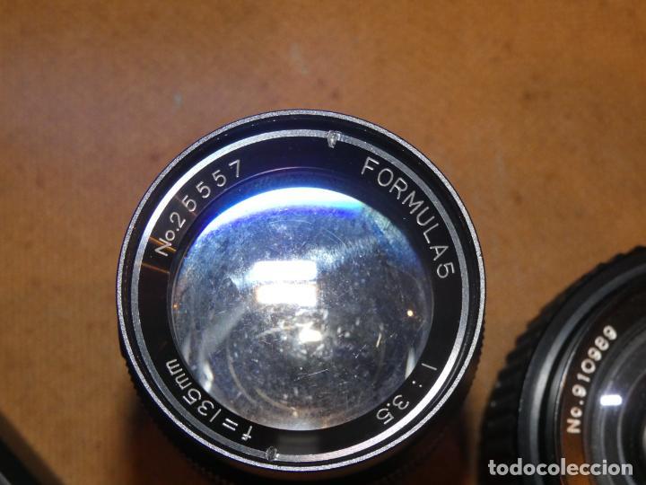 Cámara de fotos: Camara cosina 4000 S, cosinon. objetivos 200 Goko,formulas, panassonic PE, flash, fundas - Foto 12 - 159960558