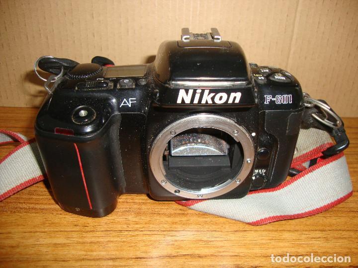 Cámara de fotos: (TC-134) CAMARA FOTOGRAFIA NIKON AF F-601 - Foto 2 - 161126918