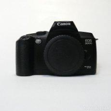 Cámara de fotos: CUERPO CAMARA CANON EOS 5000 REFLEX A CARRETE. Lote 161652302