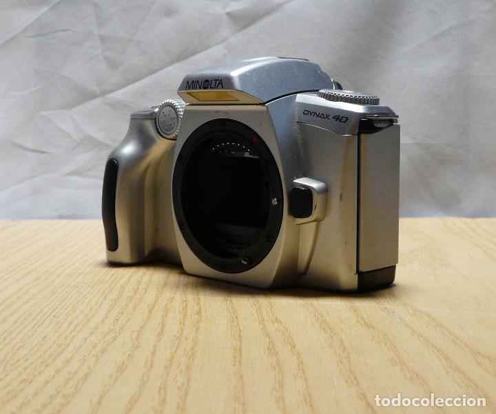 Cámara de fotos: CUERPO CAMARA REFLEX ANALOGICA MINOLTA DYNAX 40 - Foto 3 - 161685362
