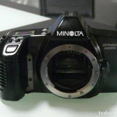 Cámara de fotos: CUERPO CAMARA REFLEX ANALOGICA MINOLTA DYNAX 3000I (REF 15). Lote 161687186