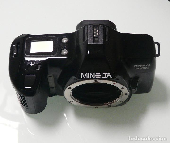 Cámara de fotos: CUERPO CAMARA REFLEX ANALOGICA MINOLTA DYNAX 3000I (Ref 15) - Foto 2 - 161687186