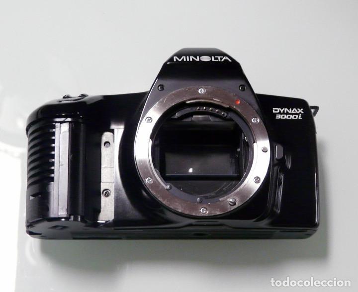 Cámara de fotos: CUERPO CAMARA REFLEX ANALOGICA MINOLTA DYNAX 3000I (Ref 15) - Foto 3 - 161687186