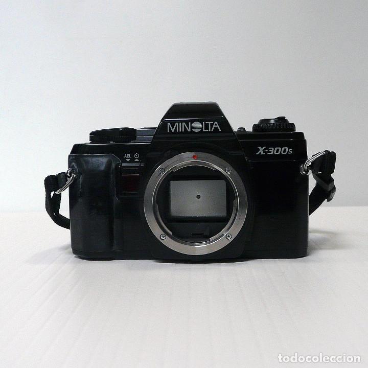 CAMARA REFLEX ANALOGICA MINOLTA X-300S-DEFECTUOSA-REF 16 (Cámaras Fotográficas - Réflex (autofoco))