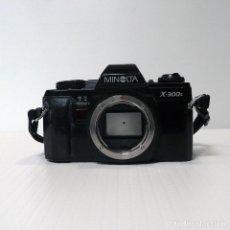 Cámara de fotos: CAMARA REFLEX ANALOGICA MINOLTA X-300S-DEFECTUOSA-REF 16. Lote 161687594