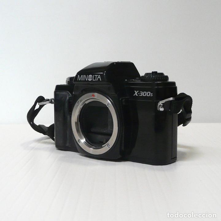 Cámara de fotos: CAMARA REFLEX ANALOGICA MINOLTA X-300S-defectuosa-Ref 16 - Foto 3 - 161687594