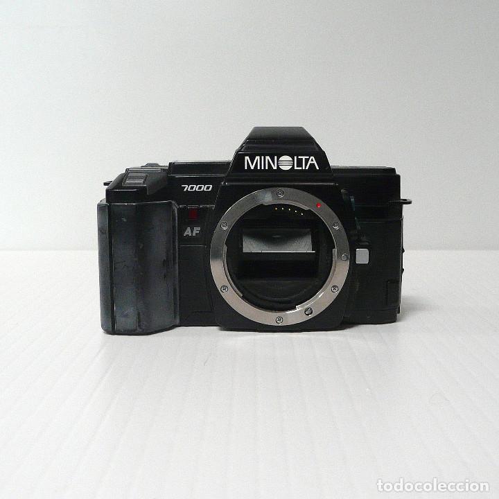 CAMARA REFLEX ANALOGICA MINOLTA 7000-DEFECTUOSA-REF 17 (Cámaras Fotográficas - Réflex (autofoco))