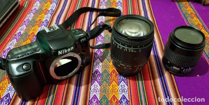 Cámara de fotos: CAMARA NIKON F50 REFLEX ANALOGICA / OBJETIVOS/FLASHES - Foto 2 - 162115758