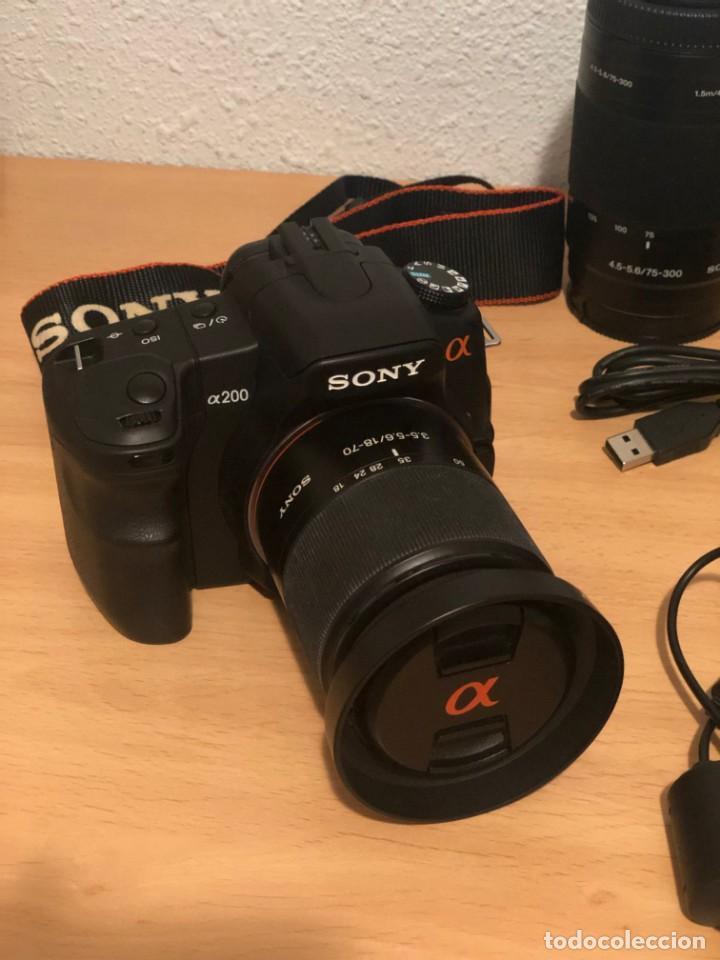 Cámara de fotos: SONY a200 - Foto 2 - 162478082