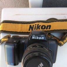Cámara de fotos: CAMARA NIKON AF N6006 CON OBJETIVO NIKON 35-80 MM 1:4-5,6 D. Lote 162562178