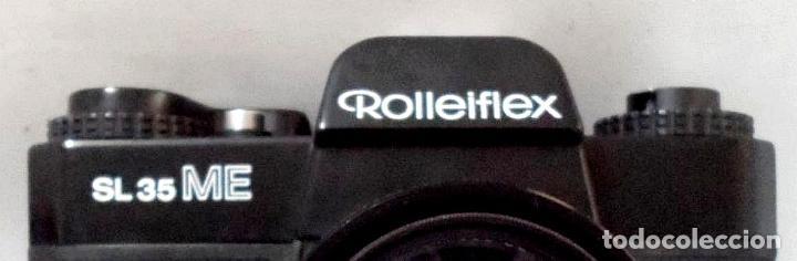 Cámara de fotos: MAQUINA DE FOTOS ROLLEIFLEX sl 35 ME. francine - Foto 7 - 163071966
