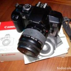 Cámara de fotos: CÁMARA REFLEX CANON EOS 5000 ANALÓGICA. Lote 163851418