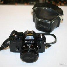 Cámara de fotos: NIKON EM + 50MM. Lote 164672214
