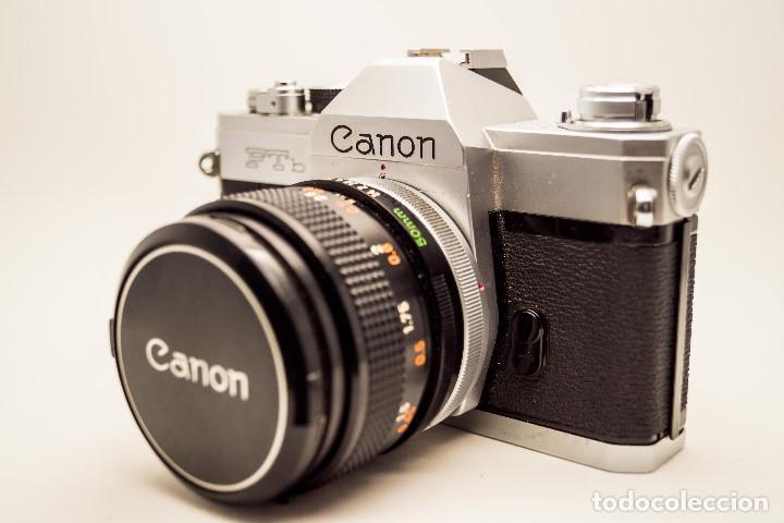 CANON FTB QL + OBJETIVO 50 MM 1.4 (Cámaras Fotográficas - Réflex (autofoco))