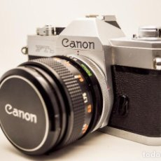 Cámara de fotos: CANON FTB QL + OBJETIVO 50 MM 1.4. Lote 165324990