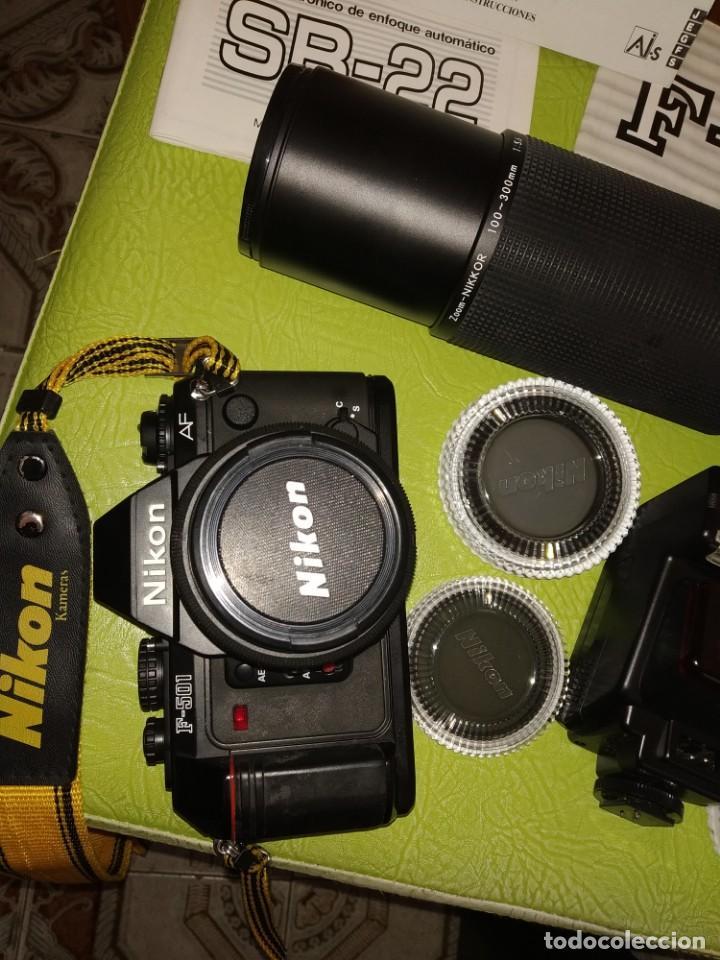 Cámara de fotos: Cámara Nikon con accesorios - Foto 2 - 165607938