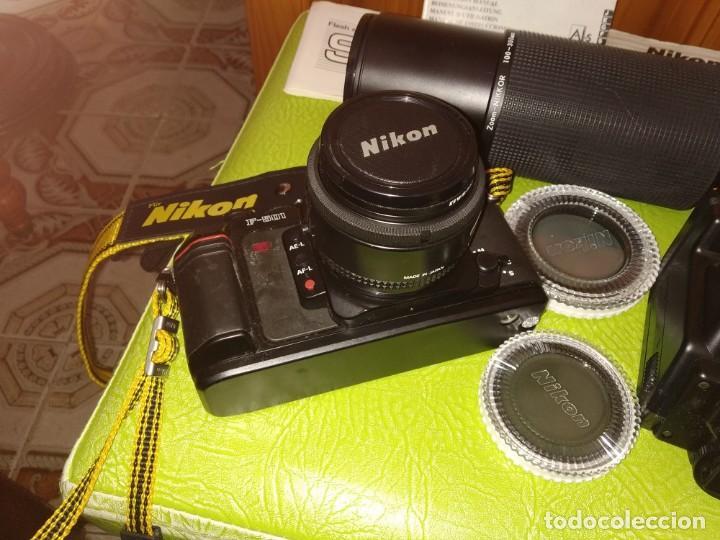 Cámara de fotos: Cámara Nikon con accesorios - Foto 3 - 165607938