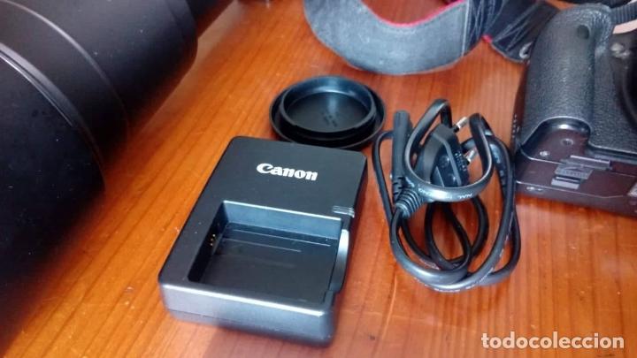 Cámara de fotos: CAMARA CANON EOS 500D +OBJETIVO - Foto 5 - 166793206