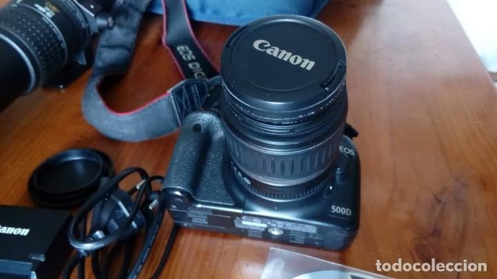 Cámara de fotos: CAMARA CANON EOS 500D +OBJETIVO - Foto 7 - 166793206
