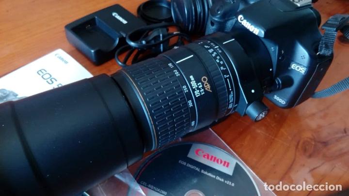 Cámara de fotos: CAMARA CANON EOS 500D +OBJETIVO - Foto 9 - 166793206