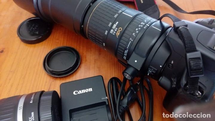 Cámara de fotos: CAMARA CANON EOS 500D +OBJETIVO - Foto 10 - 166793206