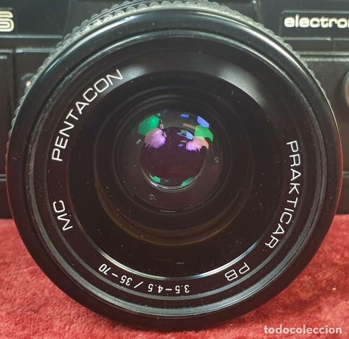 Cámara de fotos: CÁMARA FOTOGRAFICA. PRAKTICA. MODELO BMS ELECTRONIC. ALEMANIA. CIRCA 1980. - Foto 7 - 168149684