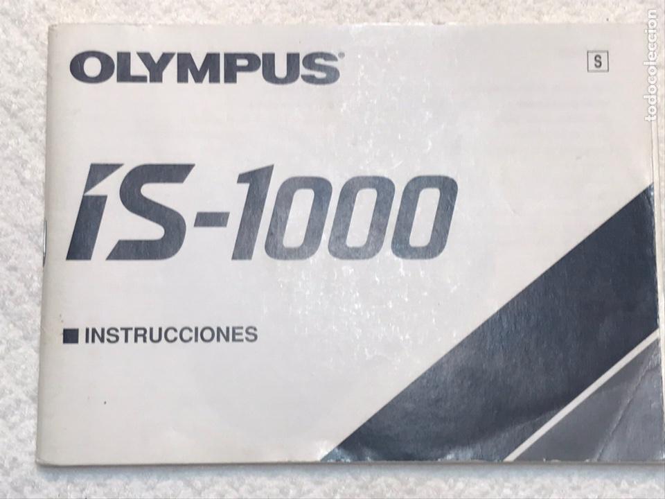 Cámara de fotos: Cámara réflex Olympus IS-1000 - Foto 9 - 169016753