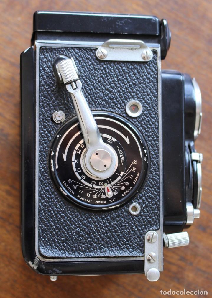 Cámara de fotos: Cámara réflex de lente Minolta autocord Doble Con Rokkor 75mm f/3.5 Lente de Japón - Foto 3 - 278181448