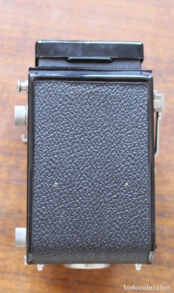 Cámara de fotos: Cámara réflex de lente Minolta autocord Doble Con Rokkor 75mm f/3.5 Lente de Japón - Foto 4 - 278181448